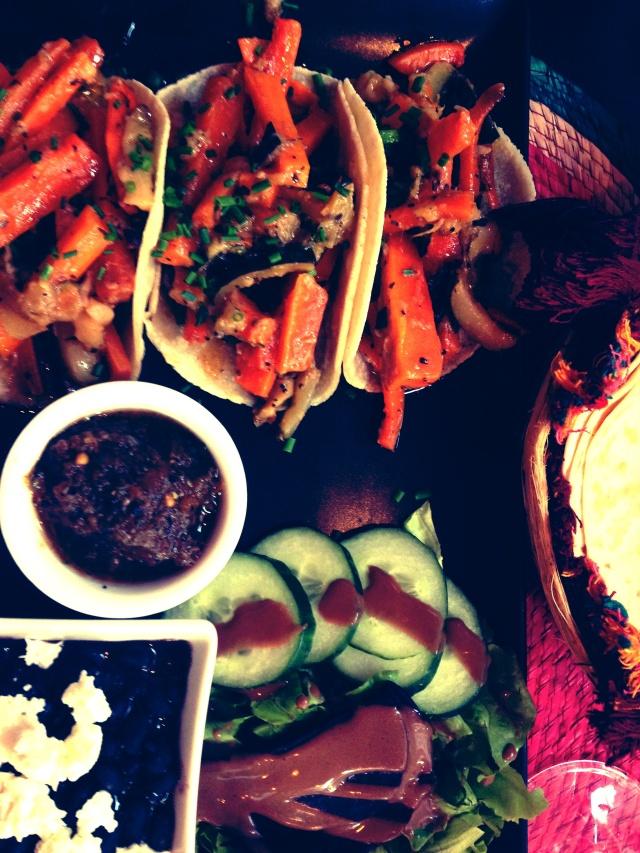 Huitzilin Vegetarian Tacos