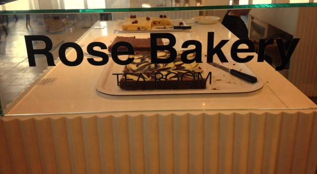 Rose Bakery Sign
